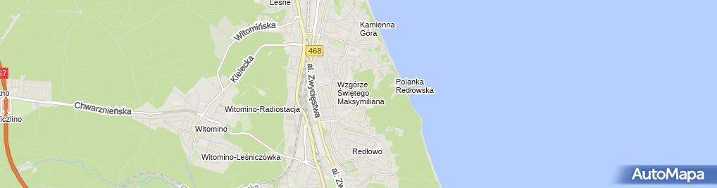 Zdjęcie satelitarne Alfabet Punkt Przedszkolny