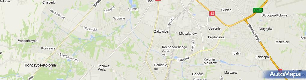 Zdjęcie satelitarne Kraina Przygód Przedszkole Niepubliczne