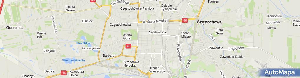 Zdjęcie satelitarne Miejskie Przedszkole Nr 23 Im. Jasia I Małgosi