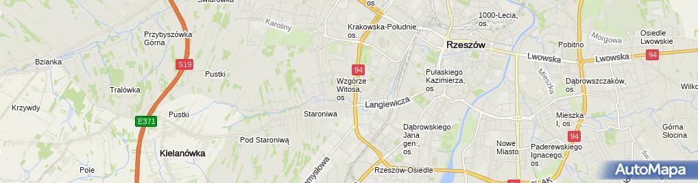 Zdjęcie satelitarne Niepubliczne Przedszkole 'Bajkowy Zakątek'