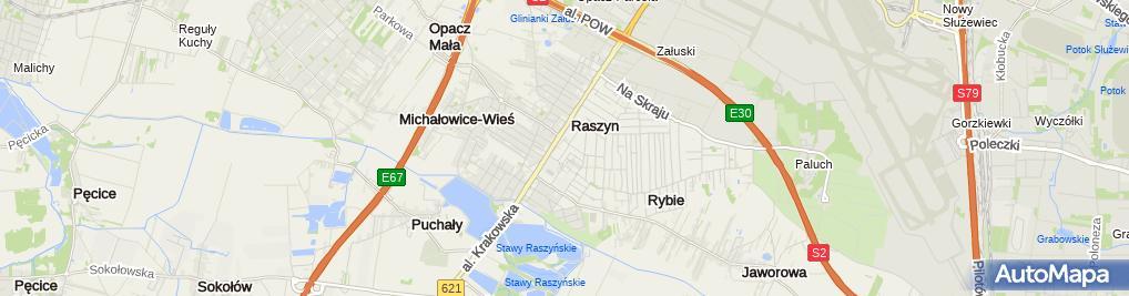 Zdjęcie satelitarne Niepubliczny Punkt Przedszkolny Akademia Misia Uszatka Justyna Chraniuk
