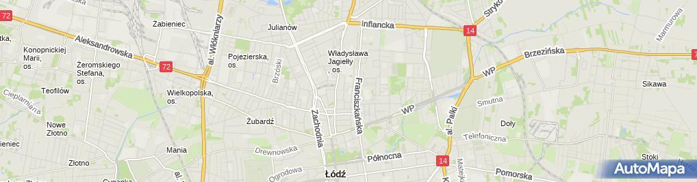 Zdjęcie satelitarne Prywatne Kornelówka