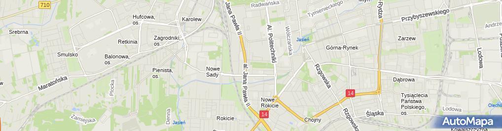 Zdjęcie satelitarne Przedszkole Miejskie Nr 101