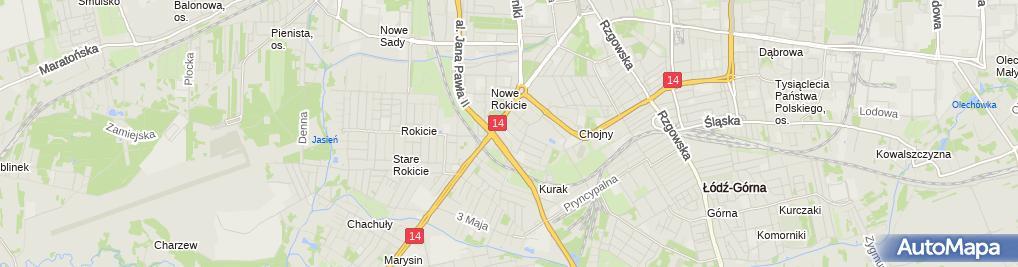 Zdjęcie satelitarne Przedszkole Miejskie Nr 122