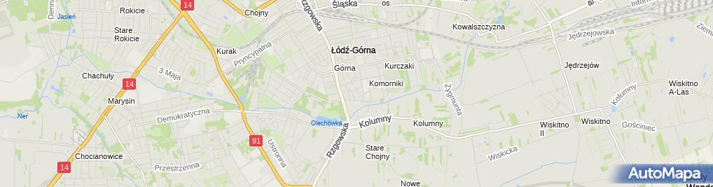 Zdjęcie satelitarne Przedszkole Miejskie Nr 192