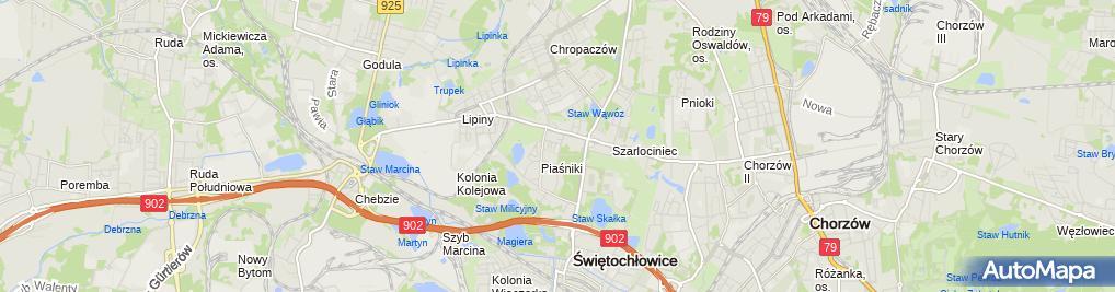 Zdjęcie satelitarne Przedszkole Miejskie Nr 8 Im.krasnala Hałabały