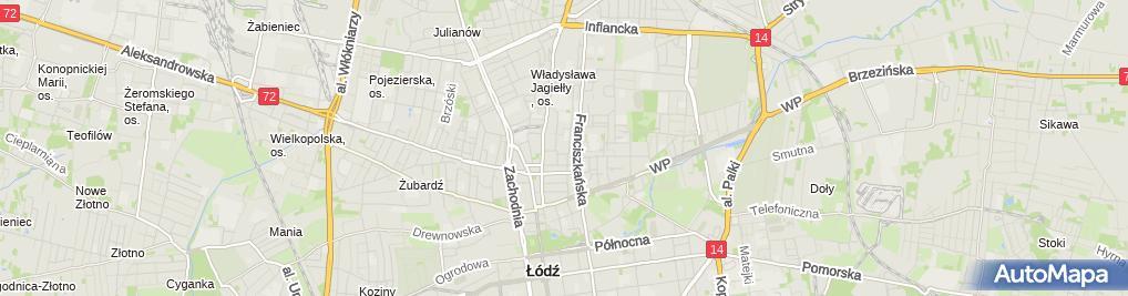 Zdjęcie satelitarne Przedszkole Miejskie Nr 81