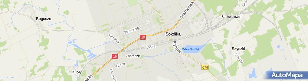 Zdjęcie satelitarne Przedszkole Nr 4