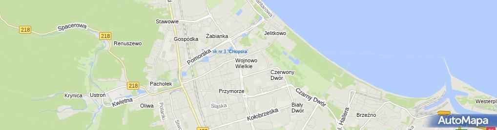 Zdjęcie satelitarne Przedszkole Nr 54 'Fantazja'