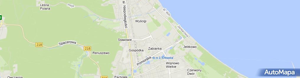 Zdjęcie satelitarne Przedszkole Nr 64 'Kubuś Puchatek'