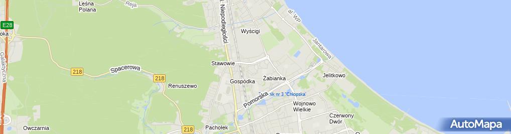 Zdjęcie satelitarne Przedszkole nr 65