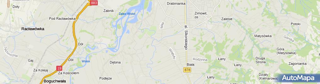 Zdjęcie satelitarne Punkt Przedszkolny