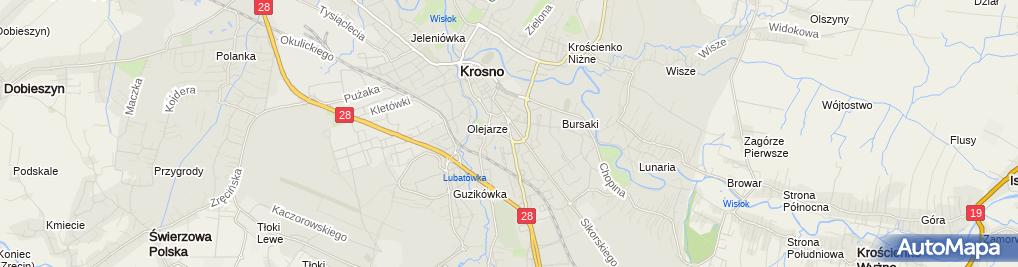 Zdjęcie satelitarne Terapeutyczny Punkt Przedszkolny Guziczek Piotr Guzik