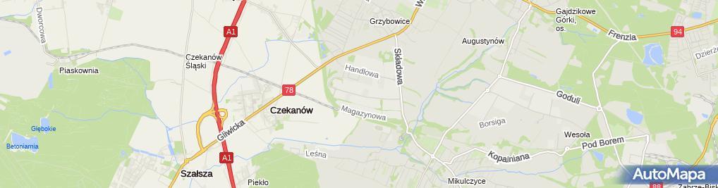 Zdjęcie satelitarne Best Poland Sp. z o.o.