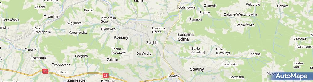 Zdjęcie satelitarne Limblach