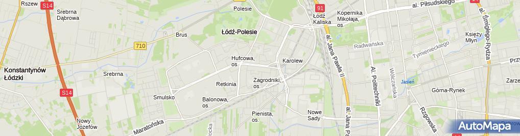 Zdjęcie satelitarne Bartosz Izdebski