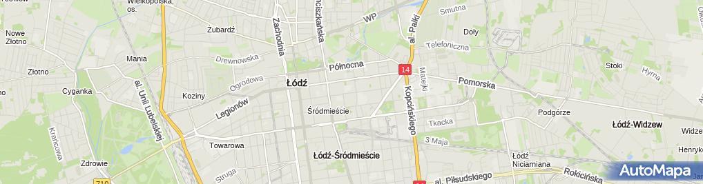 Zdjęcie satelitarne dr Lik Clinic