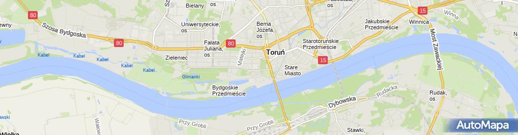 Zdjęcie satelitarne NZOZ Przychodnia Fredry Spółka z o.o.