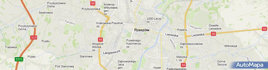 Zdjęcie satelitarne Ośrodek Chirurgii Plastycznej Dr. Macieja Kuczyńskiego