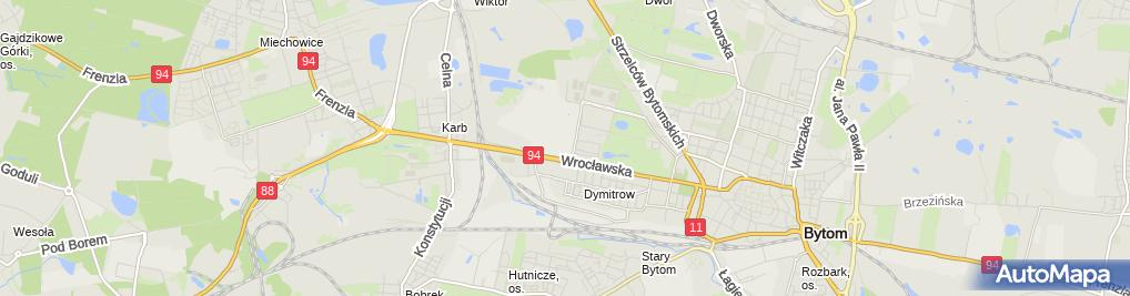 Zdjęcie satelitarne Pro-Med-Centrum