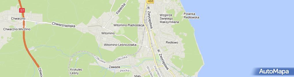 Zdjęcie satelitarne Synexus Gdynia - Centrum Medyczne