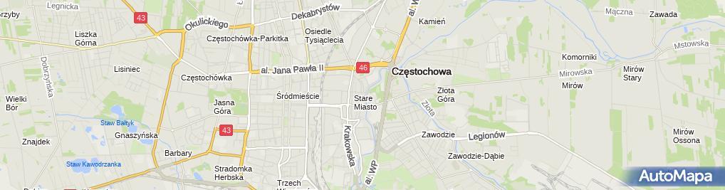 Zdjęcie satelitarne PSS Społem - Sklep