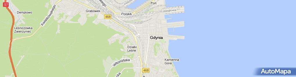 Zdjęcie satelitarne Gabinet Hipnozy i Hipnoterapii Rafał Sakowski