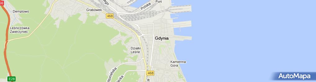 Zdjęcie satelitarne Gabinet Psychoterapii Magda Ostrowska