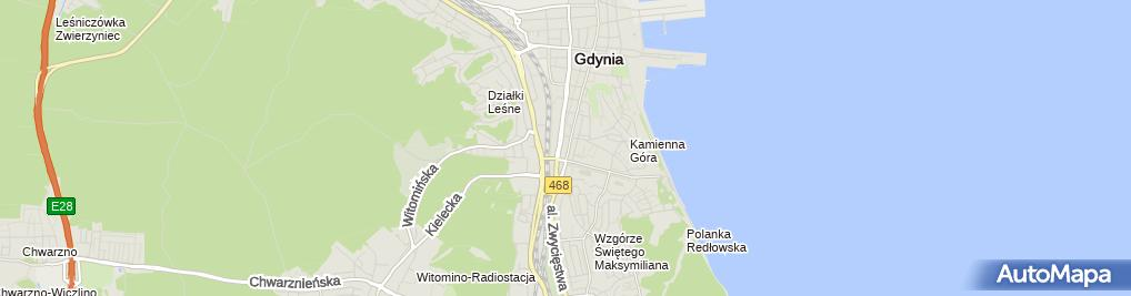Zdjęcie satelitarne Pracownia Psychologiczna i Psychoterapeutyczna
