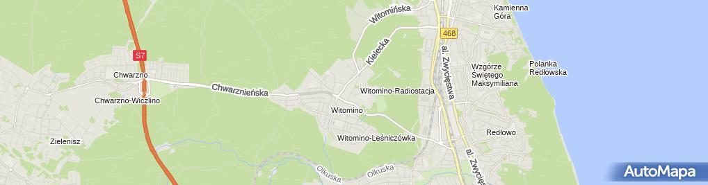 Zdjęcie satelitarne W Labiryncie - Psycholog Gdynia