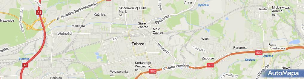 Zdjęcie satelitarne Uliczka Pub