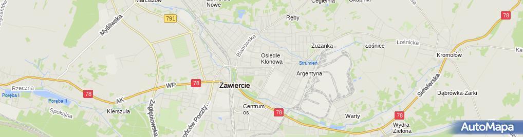 Zdjęcie satelitarne POP-ZAW7