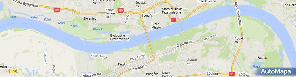 Zdjęcie satelitarne Punkt widokowy