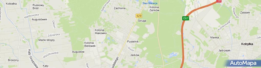 Zdjęcie satelitarne ZadbaneAuto.pl