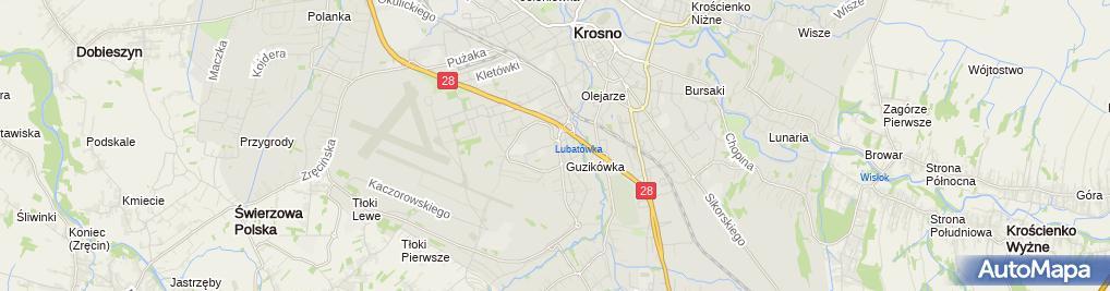 Zdjęcie satelitarne Dorsum Gabinet Rehabilitacji Zofia Gorczyca