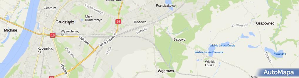 Zdjęcie satelitarne Małgorzata Irena Kikel