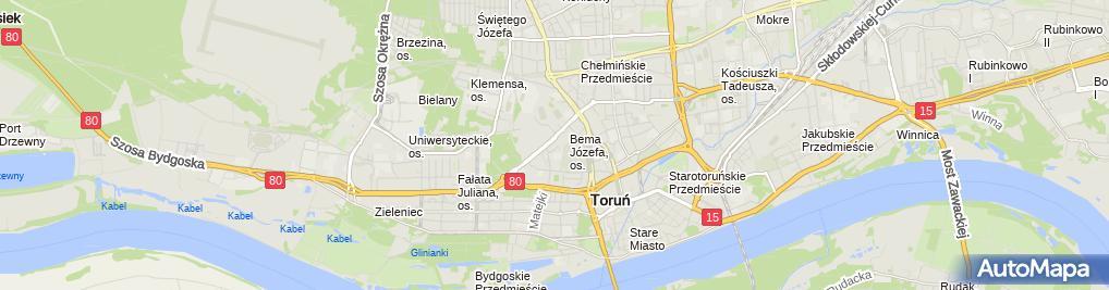 Zdjęcie satelitarne Sara Anna Zaręba