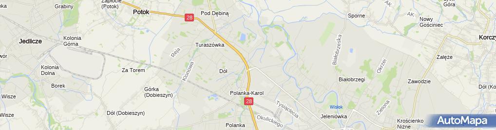 Zdjęcie satelitarne AUTO SPEKTRUM Sp. z o.o.
