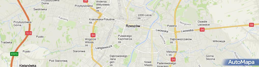 Zdjęcie satelitarne Grzesznicy