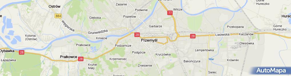 Zdjęcie satelitarne Kuchnia Polska
