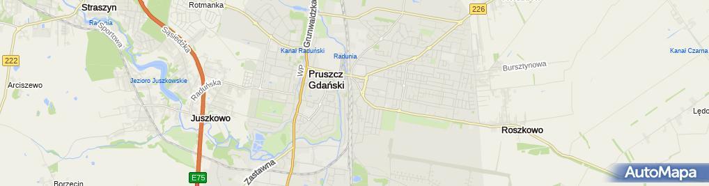 Zdjęcie satelitarne Restauracja & Pizzeria FILMOWA