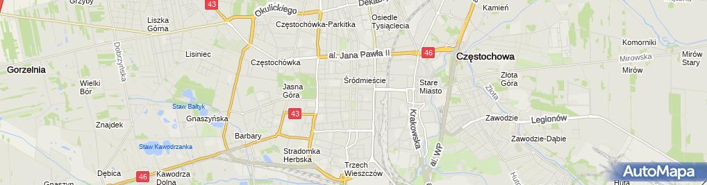 Zdjęcie satelitarne Restauracja pod Ratuszem