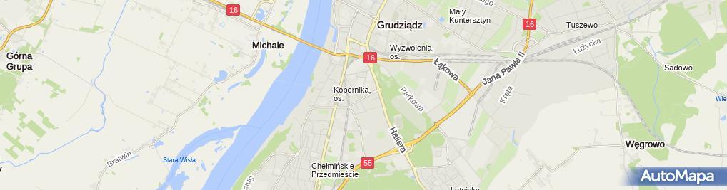 Zdjęcie satelitarne Restauracja Pomorzanka
