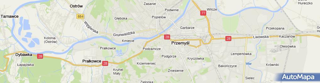 Zdjęcie satelitarne Restauracja Wyrwigrosz