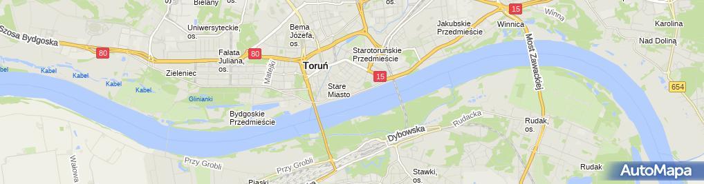 Zdjęcie satelitarne Restauracja Zamkowa
