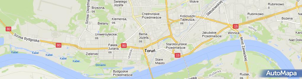 Zdjęcie satelitarne Rossmann - Drogeria