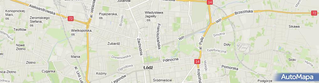 Zdjęcie satelitarne FR SHOP FR Sp. z o.o.