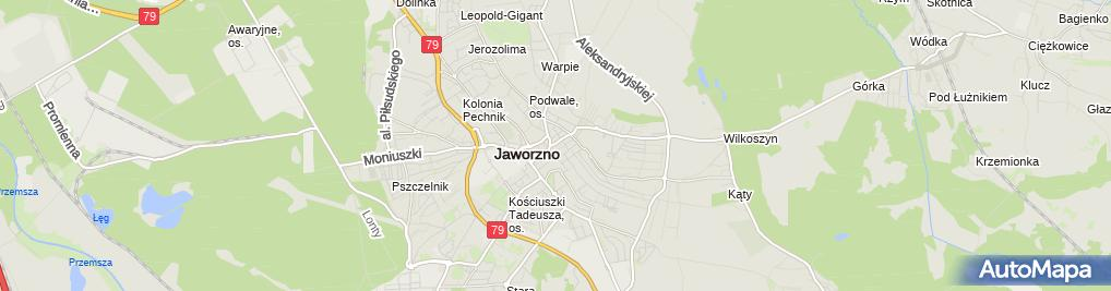 Zdjęcie satelitarne Serwis sprzętu RTV Mieczysław Rejdych