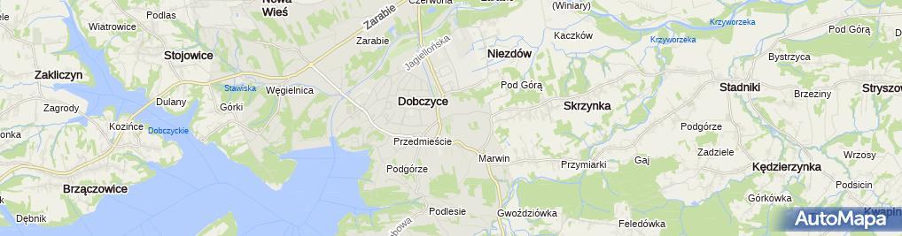 Zdjęcie satelitarne Kaplica cmentarna