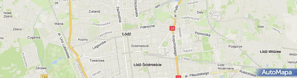 Zdjęcie satelitarne Najświętszej Maryi Panny Królowej Pokoju